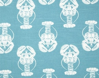 Blue Lobster Table Runner - Weddings, Receptions, Parties, Dining Table, Buffet -
