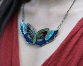 Vintage Inspired BUTTERFLY Mariposa NECKLACE