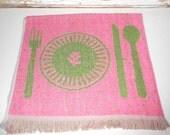 Vintage KItchen Towel 1960's Morgen-Jones