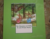 """Children's Book, """"The Adventure of Melby Jo and Bruno Bunny"""", Heavily Illustrated, Sure to be a Children's Classic, Childrens Story Book,"""
