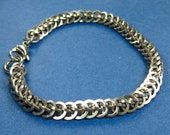 Stainless Steel Half Persian 3 in 1 Weave Chainmaille Bracelet