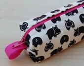 Custom for Lois - Happy Hippos Cutlery Bag