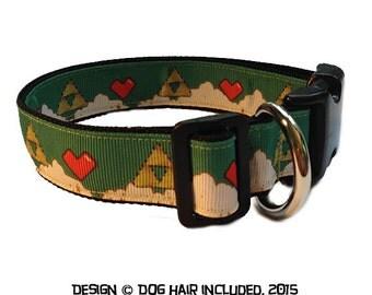 Legend of Zelda-inspired dog collar