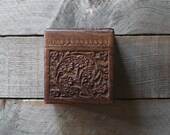 Vintage Hand Carved Rosewood Box, Decorative Wood Box, Storage, Home and Living,