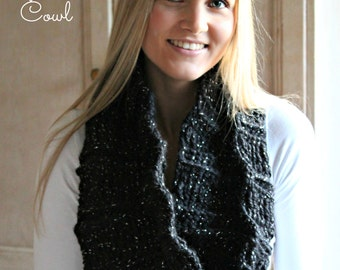 Download Now - CROCHET PATTERN Add Sparkle Cowl - Pattern PDF