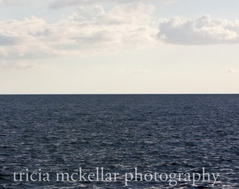 Large Art Print, Blue Ocean, 20x30 Fine Art Photograph by Tricia McKellar, No. 8842