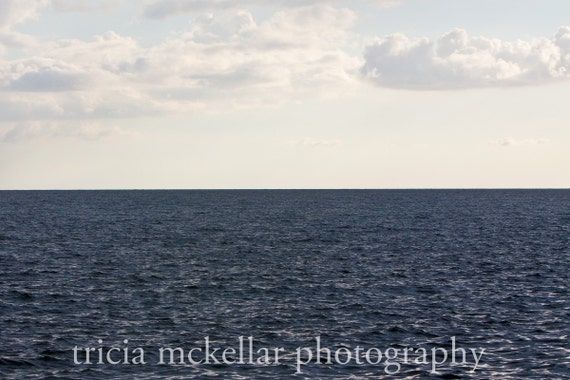 Large Art Print, Blue Ocean, 20x30 Fine Art Photograph by Tricia McKellar, No. 8842