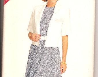 Butterick 6161 Plus Jacket Dress Sewing Pattern 16 18 20 22 24 UNCUT