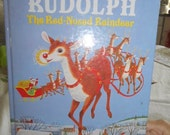1985,1995 A Big Golden Book Rudolph The Red-Nosed Reindeer by Barbara Shook Hazen