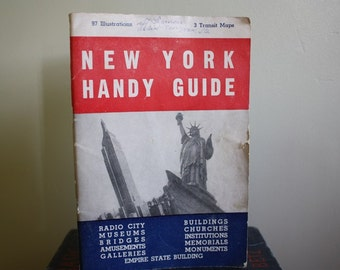 New York Handy Guide Collectible 1947