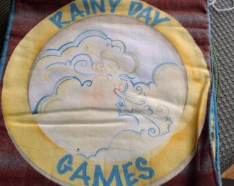 Rainy Day Fun fabric cloth book