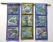 Crop Circles ~ textile arts