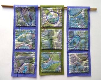 Crop Circles ~ textile arts