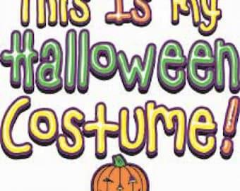 Mens or Womens Halloween Costume Tee Shirt Sizes Small through 3XL Plus Sizes Too Pumpkin Free Shipping New Fall
