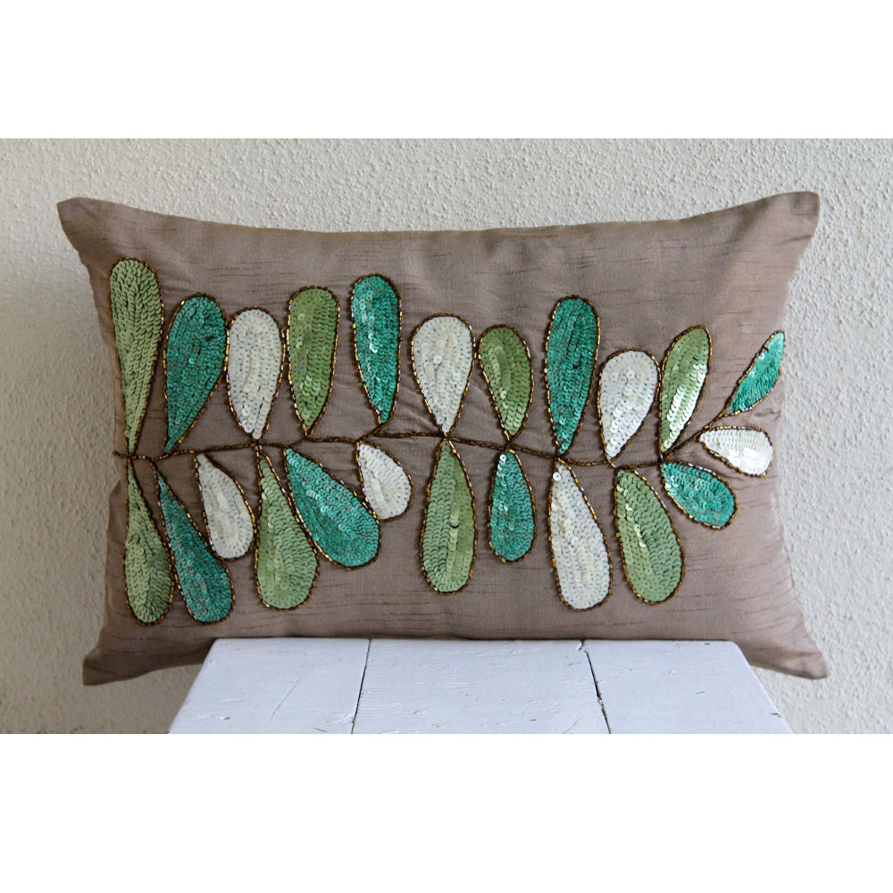 Decorative oblong lumbar throw pillow covers accent pillows - What is a throw pillow ...
