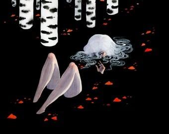 Dark Forest - 11x14 print