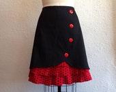 Reserved for Svetlana- SALE Betty ruffle front skirt Sz 16