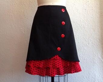 SALE Betty ruffle front skirt Sz 16