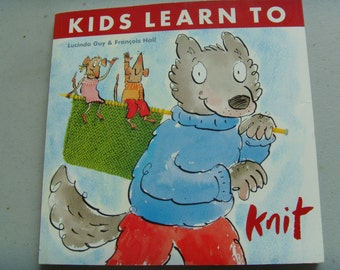 Kids Learn to Knit--used book