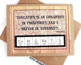 Props to You Card - Congrats Card - Graduation, Education, School, Gift Idea