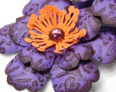 Festive Fall Flowers-Set of Three 3-D Blooms