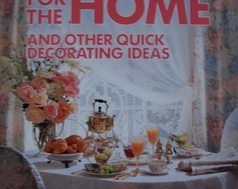 Vintage Palmer/Pletsch Creative Serging for the Home Book and Other Quick Decorating Ideas  by Linda Wisner and Lynette Ranney Black