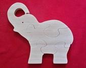 Lg. Elephant Puzzle