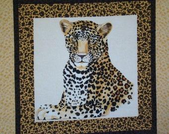 Timeless Treasures Leopard Pillow Panel