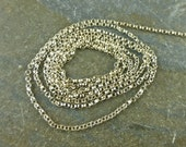 Delicate Sterling Silver Rolo Chain - By The Foot - 1.2mm Rolo Chain - btfdr
