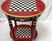 Custom Whimsical Table for Janie
