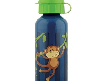 Stephen Joseph Boy Monkey Water Bottle