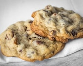 Pecan Chocolate Chip Cookies - 3 dozen homemade cookies