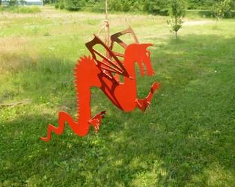Hanging Metal Dragon