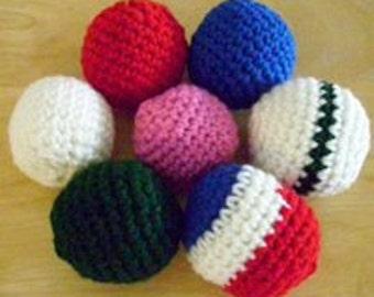 Cat Nip crocheted Balls