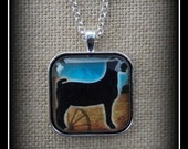 Show Heifer Pendant With Necklace Chain