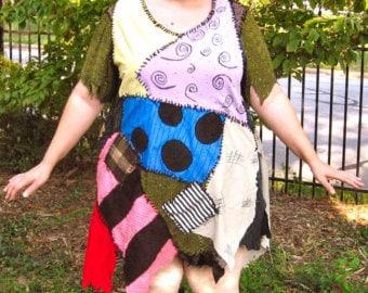 Custom Handmade Sally Nightmare Before Christmas Rag Doll Costume