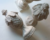 hold for caryn - two cement finials (please do not purchase unless you are caryn)
