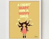 Girls Art Print, Digital Print, Teen Poster, Girls Bedroom Wall Decor, Pink Modern Art for Girls Bedroom, Teen Bedroom Artwork