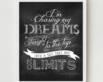Quote Poster, Quote Print, Inspirational Typography, Inspiring Quote Wall Hanging, Wall Decor, Inspirational Quote Wall Art Digital Print