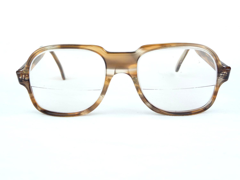 vintage eyeglasses ace high plastic frames brown frames