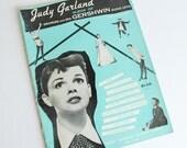 Judy Garland Sheet Music Gershwin Song Hits Album