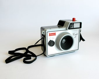 Vintage Ansco Cadet II Camera Outfit Photography Home Shelf Decor