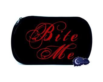Bite Me Cosmetic Bag