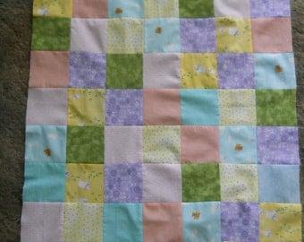 Baby    -  quilt top     --new--     (24  x 44)