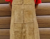 Multipurpose Leather Work Bib Apron With 4 Pockets    February Special SALE