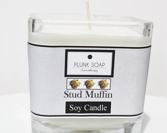 Stud Muffin Soy Candle 16 oz