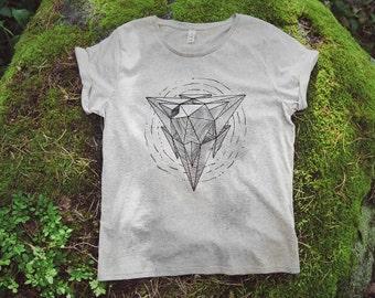 Tetrahedron Women's Organic Tee (M)