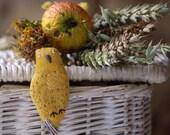 Yellow Bird. Pin. Ready to ship.