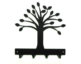 Tree Metal Art Key Rack - Free USA Shipping