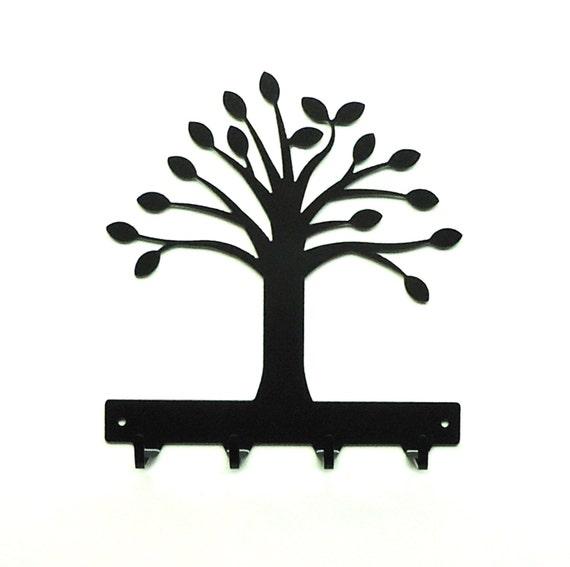 Tree Metal Art Key Rack - Free USA Shipping